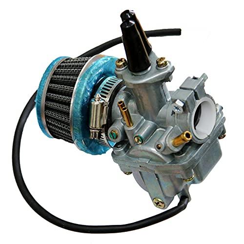 DONSP1986 High Performance Carburetor- 66cc/80cc 2 Stroke Bicycle Engine Kit Gas Motorized Bicycle