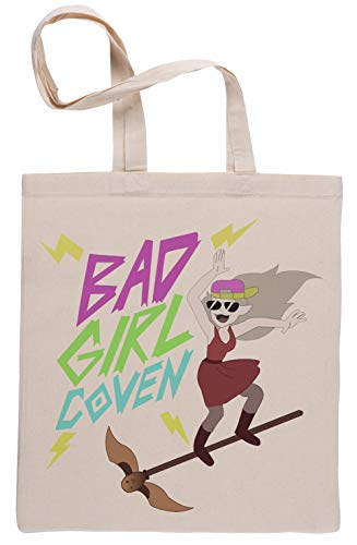 Bad Girl Coven Beige Reutilizable Bolsa De Compras Reusable Beige Shopping Bag