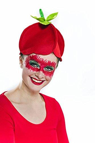 Festartikel Müller Erdbeeren Hut für Damen Einheitsgröße