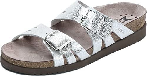 Mephisto Women's Helisa Sandals Silver 7 M US