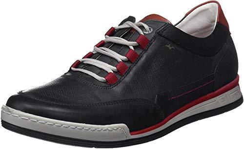 Fluchos   Zapato de Hombre   ETNA F0146 Habana Pl. Marino   Zapato de Piel   Cierre con Cordones   Piso TR