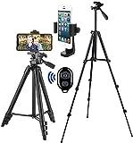 Handy Stativ Smartphone Kamera Stative Lightweight Tripod Ständer für iPhone/Samsung/Huawei Halter Halterung Leichtes Kamera-Dreibeinstativ