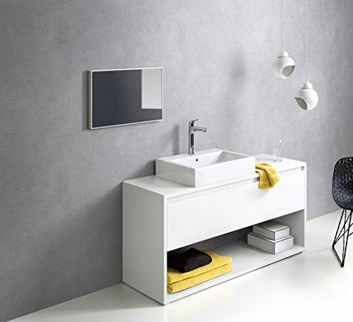 Hansgrohe – Waschtisch-Einhebelarmatur, ohne Ablaufgarnitur, QuickClean, EcoSmart, Chrom, Serie Focus 190 - 3