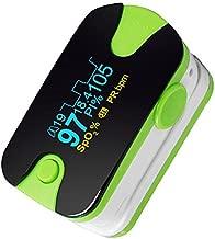 Portable Color OLED Fingertip Health Meter 4 Parameter SpO2 PR PI Body Condition Monitor, Activity Tracker