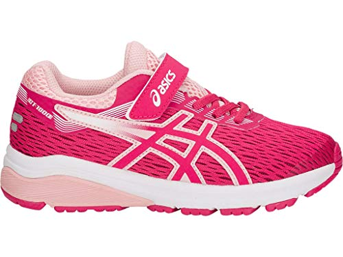 ASICS - Unisex-Child Gt-1000 7 Ps Shoes, Size: 3 M US Little Kid, Color: Pixel Pink/Frosted Rose