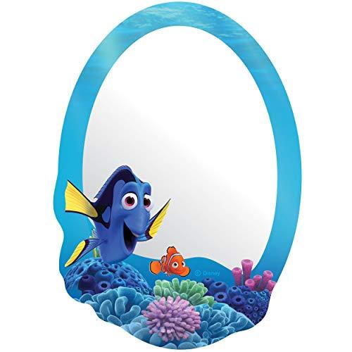 alles-meine.de GmbH Kinder Wandspiegel - Acryl Spiegel - bruchsicher unzerbrechlich - Disney Findet Nemo - Fisch Dory - selbstklebend & wiederverwendbar - Plexiglas - 22 cm - Wan..