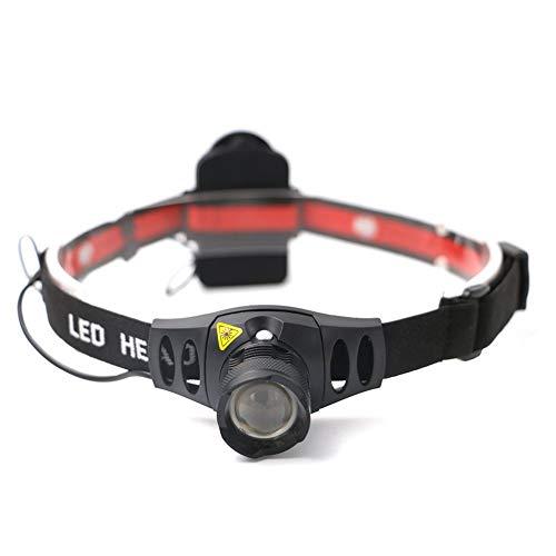 XXLYY Linterna Frontal LED Cabeza LED Ultra Brillante 4 Modos Linterna para Acampar Correr Senderismo Pesca