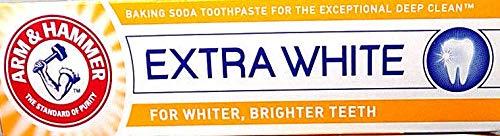 Arm & Hammer Extra Weiße Pflege mit Fluroide 100ml, 4er Pack (4 x 100 ml)