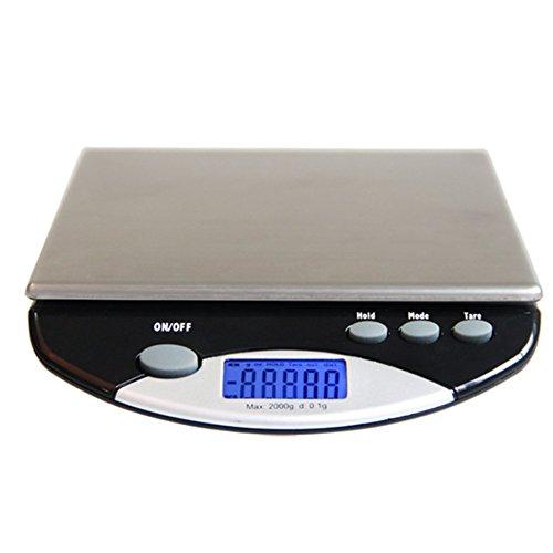 Roestvrij staal Digitale Keuken Weegschalen, Draagbare Precisie Elektronische Waterdichte Cake Bakken Voedsel Medicine Schaal, Nauwkeurige Precisie Tot 6 Kg, Groot Display
