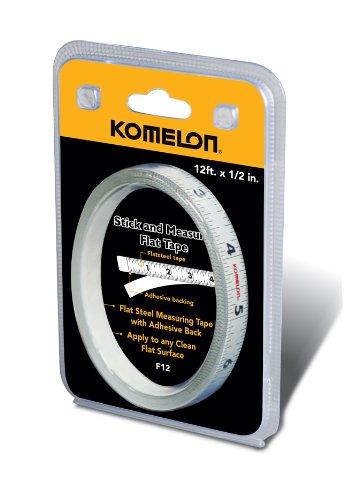 Komelon F12 12-Foot Stick and Measure Flat Tape Measure