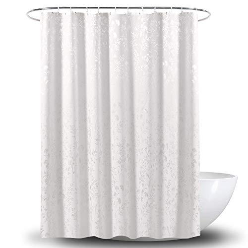Duschvorhang Für Badezimmer, Blatt Gedruckt Satin Polyester Duschvorhang Wasserdicht Mildew Duschvorhang Geeignet Für Badezimmer Duschen Abtrennungen Und Badewannen,70.9 * 78.8in