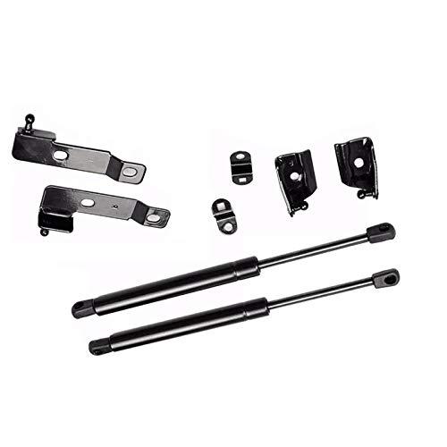 Qwldmj Kit di Supporto per Cofano Cofano Anteriore per Auto Supporto per Molle a Gas Supporto per Sollevamento per Nissan Frontier Navara D40 2004-2018 per Pathfinder (R51)