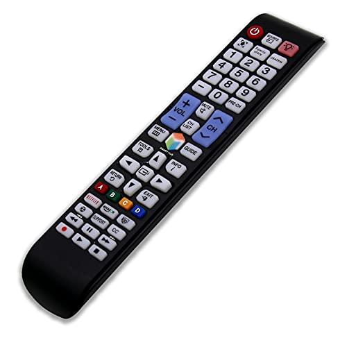 RIRY Reemplace Mando para Samsung TV Universal Mando a Distancia para Samsung Smart TV Compatible con Todos los Controles remotos de Samsung TV Reemplace Mando para Samsung TV