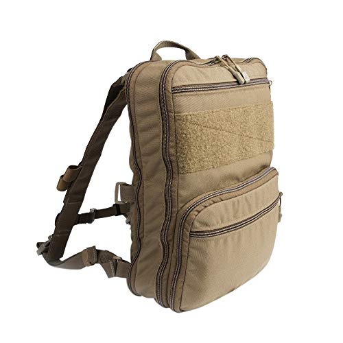 Zipper Workout Bag Tactical Backpacks - Flat backpack variable capacity tactical backpack multi-purpose equipment bag travel water bag hunting military tactical backpack Lightweight and Large Capacity