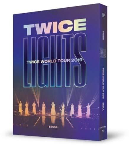 Twice World Tour 2019 [Twicelights] In Seoul (incl. 32pg Photobook,Sticker + Hologram Bookmark) [Blu-ray]