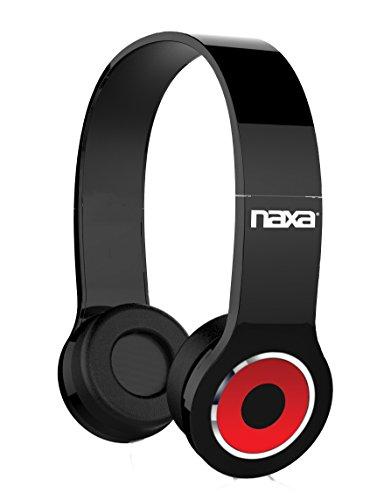 NAXA Electronics NE-932 BK Neurale Wireless Headphones with Bluetooth Technology, Black