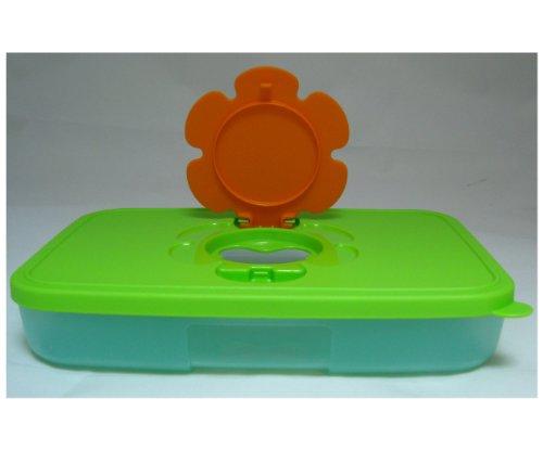TUPPERWARE baby kinderen vochtige doekdoos doos vochtige doekjes box