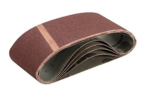 Triton TPTA12537926 Schleifbänder, 75 x 480 mm, 5er-Pack, braun