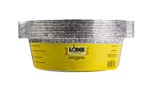 Lodge Dutch Oven Liner, 10 inch, Silver