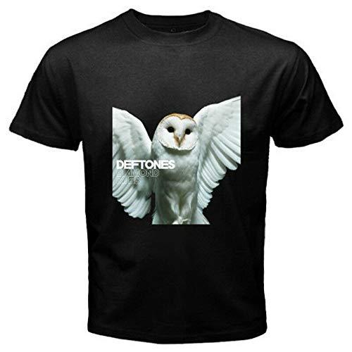 New Deftones *Diamond Eyes Rock Band Logo Men's Black T-Shirt Size S to 3XL