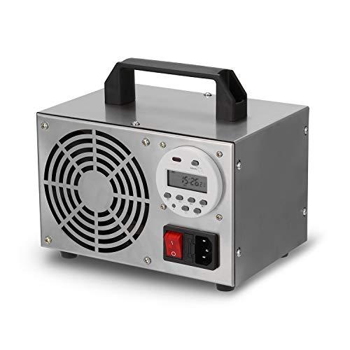 Kecheer Generatore di ozono digitale,Ozono purificatore aria con timer,Ozonizzatore per ambienti 10/32/40 g/h