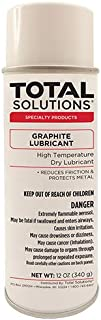 Total Solutions 8211 Graphite Lubricant, 16 oz Can (Case of 12)