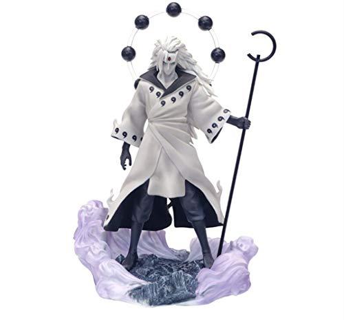 From HandMade Neue Naruto Figur Uchiha Madara Figur Ootutuki Hagoromo Style Anime Figur Action Figur