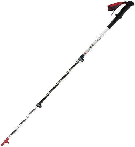 YCHSG Trekking Pole Ultralumière voiturebone batons de Trekking verrouiller Canne télescopique en Fibre de voiturebone baton de Marche matériel de grimpe en Plein air Camping baton