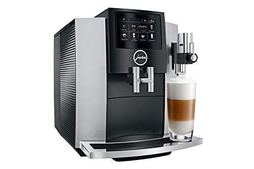 Jura-Capso S8 - Cafetera automática de color plateado