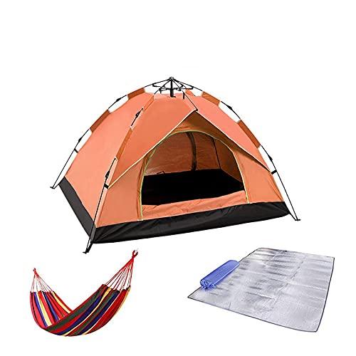 Carpa para Camping Carpas Automáticas para Acampar Carpa Familiar para Turistas Al Aire Libre 4 Estaciones Impermeable 1-4 Personas Carpa De Viaje Protección Solar para La Playa Pequeña3