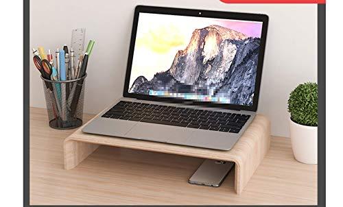 Soporte para monitor de escritorio elevador de pantalla para impresoras iMac y portátiles con cajón de almacenamiento (madera) Für Laptop(40x28x8cm)