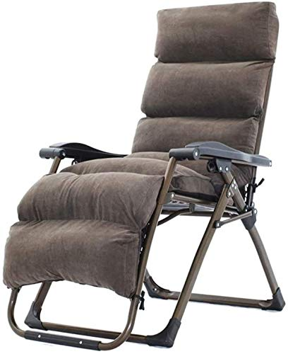 BSJZ Sun Loungers Lounge Chairs Sun Lounger/Zero Gravity Patio Lounger ChairOversized Outdoor Folding Deck Chair Reclining Garden Chair Home Lounge Chair