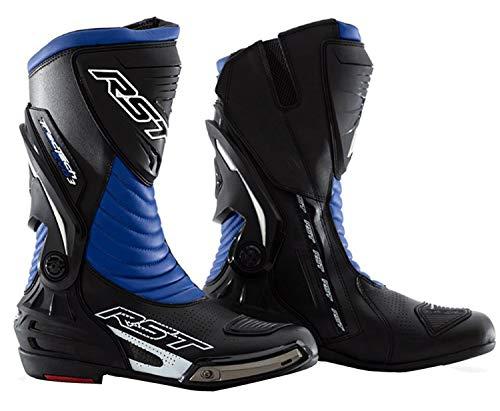 RST Motorrad-Stiefel-Tech Evo 2101Für Rennen Race Ce-Armour Motorrad-Stiefel in verschiedenen Farben, blau, 7/41