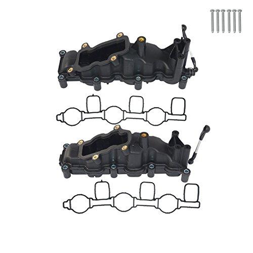 2 tapas de tubo de aspiración para 2.7 3.0 TDI V6 A4 A6 A7 Q7 059129711CK 059129712T