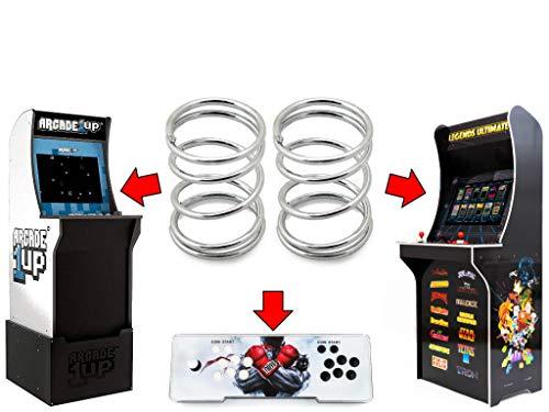 Alvatron Set of 2 Joystick 4lb Tension Springs for Arcade1up, AtGames Legends Ultimate Arcade, Pandora