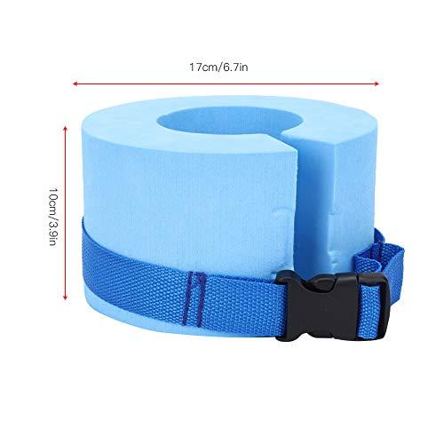 1 Paar Schwimmarmband-Schwimmärmel Schwimmarmbänder, Armbänder, Armschwimmer-Pool-Trainingszubehör(Blau)