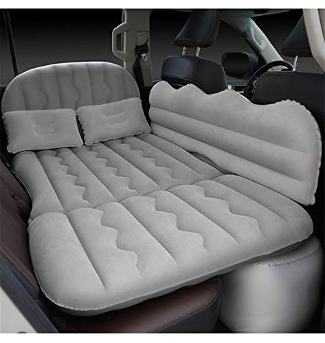 wenxin Car Inflatable Bed Multifunctional Outdoor Inflatable Mattress Car Travel Bed Car Supplies,Inflatable Mattress Car Air Mattress Bed (Color Name : Gray)