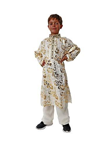 Costumizate! Disfraz de Casaca hindú Talla 5-6 Especial para niños Fiestas de Disfraces o Carnaval