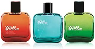 Wild Stone Edge, Forest Spice and Ultra Sensual Perfume for men,50 ml each(Pack of 3)