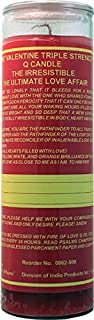 Indio Products 7 Sisters of New Orleans 7 Day Glass Dressed Candle Ultimate Love Affair St Valentine Triple Strength Q The...