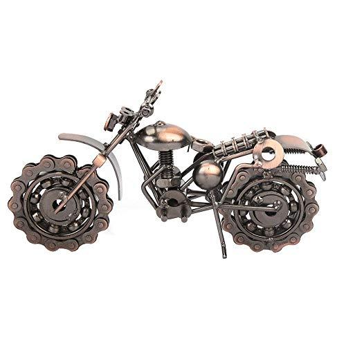 Motorrad Modell, Eisen Vintage Motorrad Modell für Desktop Dekoration Bronze Motorrad Ornamente