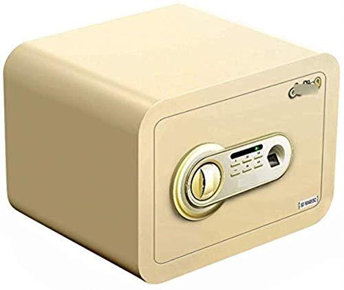 FACAIA Cajas Fuertes, Caja Fuerte Digital para el hogar Caja Fuerte electrónica Caja Fuerte Invisible para el hogar con Huellas Dactilares Grandes Caja de Seguridad con contraseña pequeña para el