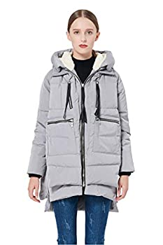 Orolay Women s Thickened Down Jacket S Gray