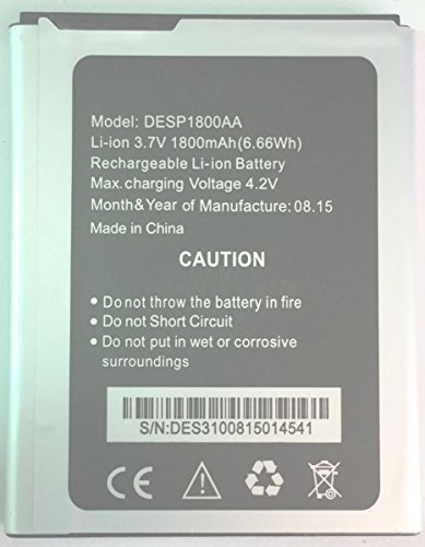 MOBOCHIP Battery Compatible for Karbonn Machone Titanium S310 (DESP1800AA)