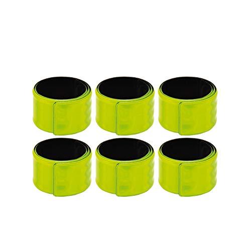 Eduplay Unisex jeugd reflectorbanden, 335mm lang, verpakking van 6