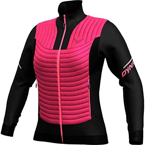 DYNAFIT W Elevation Hybrid Jacket Colorblock-Pink-Schwarz, Damen Jacke, Größe M - Farbe Lipstick