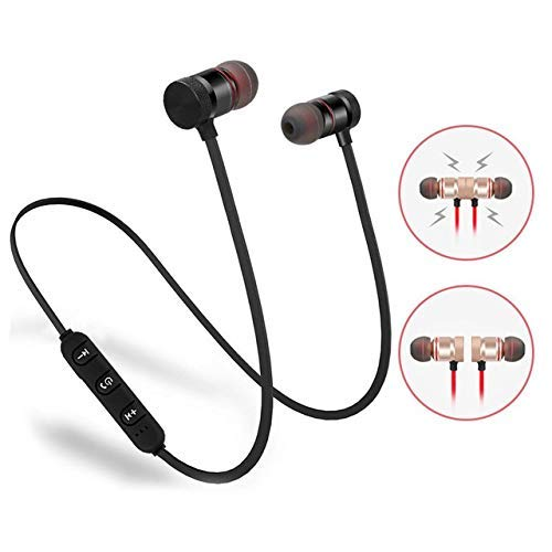 LIMESHOT Light Weight Magnetic Bluetooth Headset Earphone & Calling Function Support for...