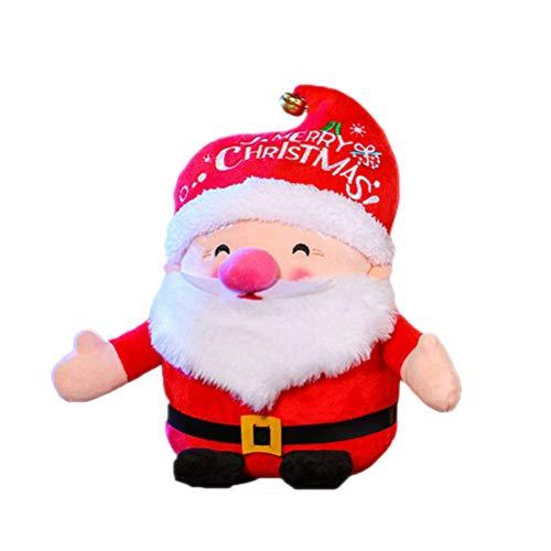 Muñeco de Papá Noel de peluche, diseño de Papá Noel 16 cm