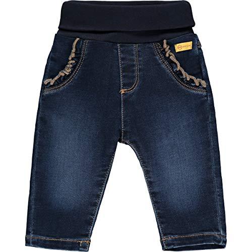 Steiff Baby-Mädchen Jeanshose Jeans, Mood Indigo, 086