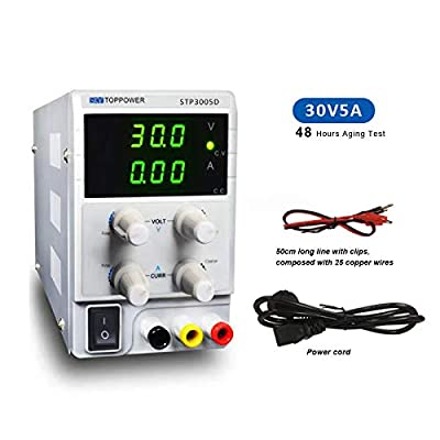 30V 5a 10a DC Bench Power Supply Variable